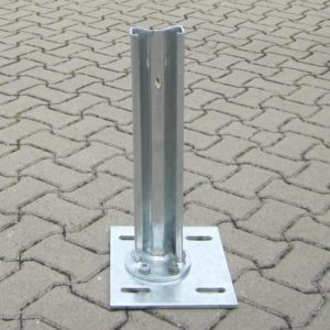 Sigma Pfosten Bodenplatte feuerverzinkt
