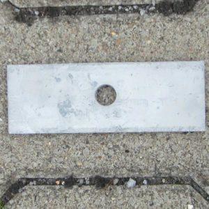 Decklasche verzinkt M16