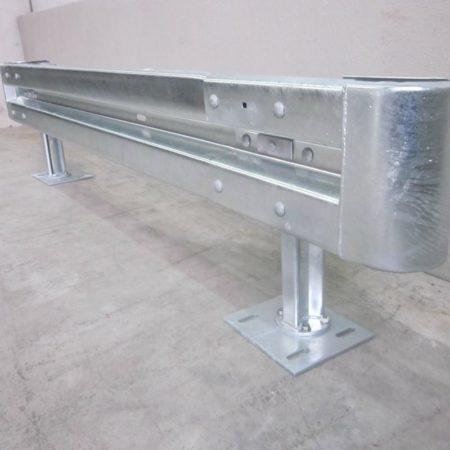 Stahlschutzplanken feuerverzinkt