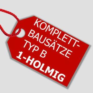 Komplett-Bausätze Typ B 1-holmig
